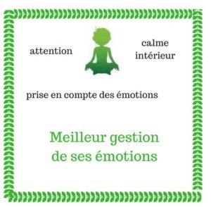 Meilleure gestion des émotions pour nos enfants