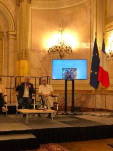 Frédéric Lenoir et Michel Tozzi présentent SEVE et les ateliers philo à l'assemblée nationale !